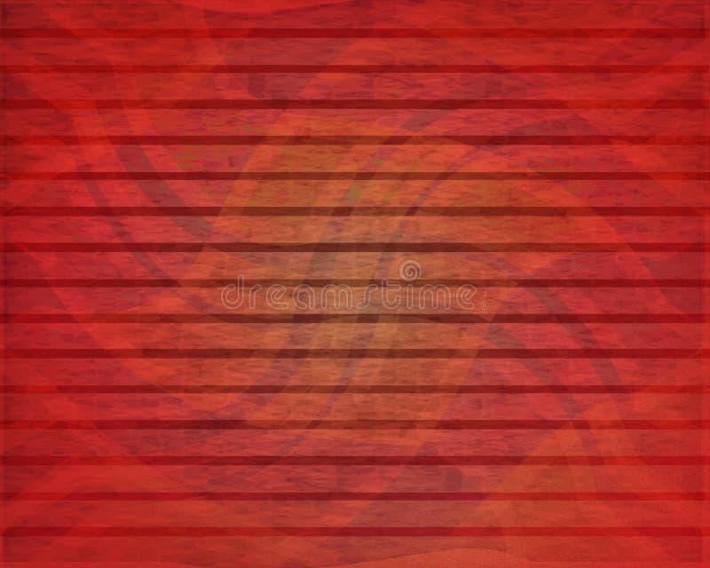 Subtiele Rode Vlot stock afbeelding