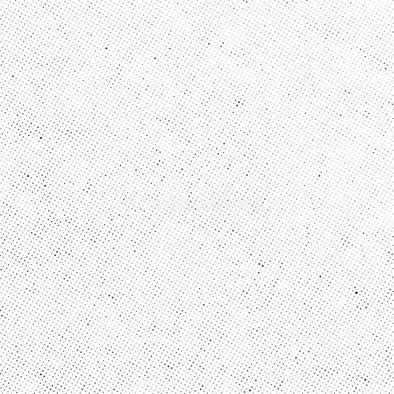 Subtil rastrerad samkopiering för prickvektortextur vektor illustrationer