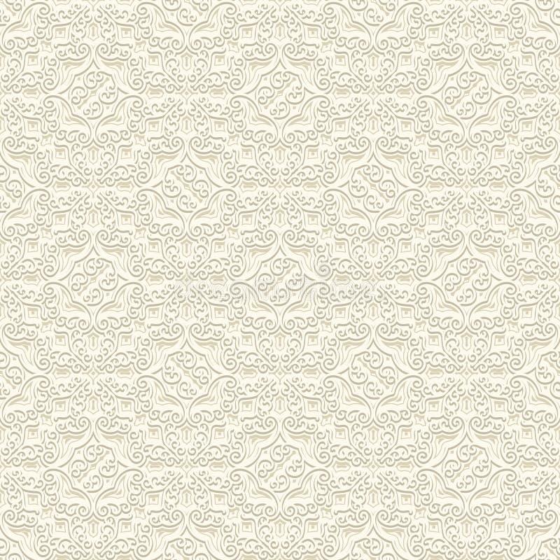 Download Subtiles Muster Der Weinlese Vektor Abbildung - Illustration von damast, fashion: 90232814