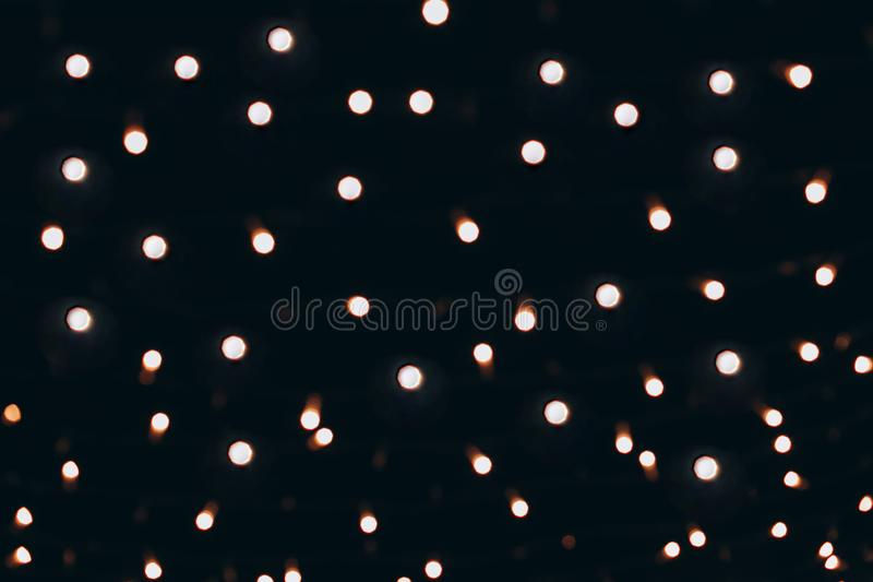 Subtle light blurred abstract bokeh on defocused background. royalty free stock image