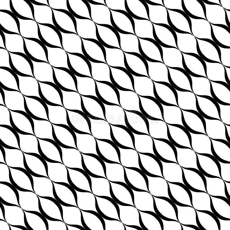 Subtle mesh texture. Vector seamless diagonal pattern, delicate lattice. Subtle mesh texture. Vector seamless pattern. Simple illustration of delicate lattice royalty free illustration