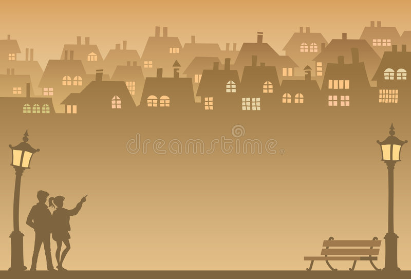 Download Suburb stock vector. Image of park, opportunity, house - 4417867