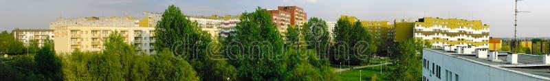 Suburban district stock photos