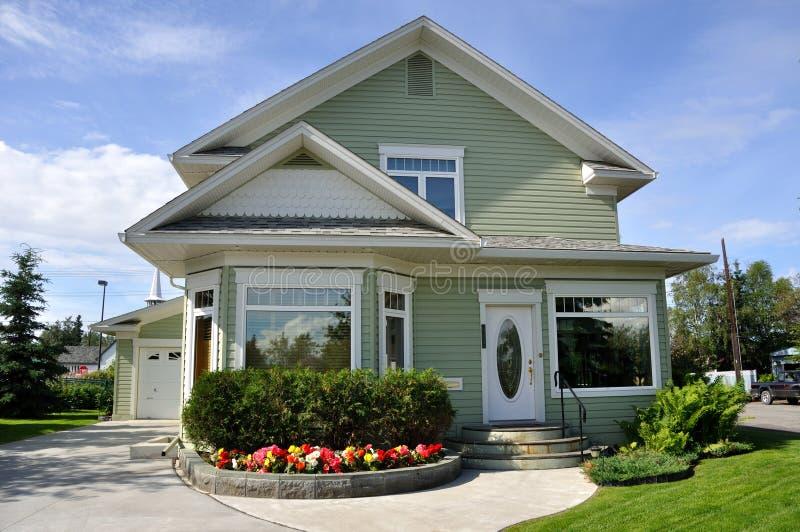 Suburban Home royalty free stock photos