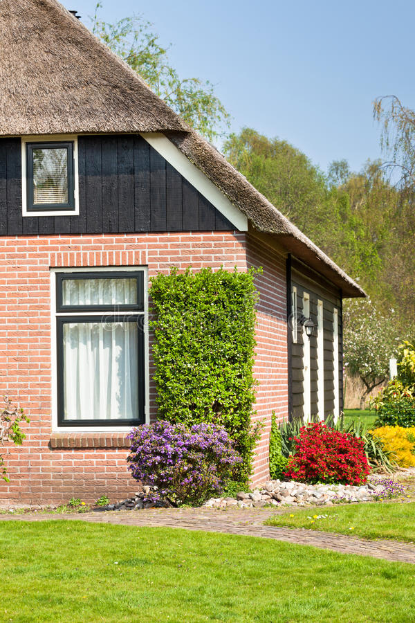 Suburban Home View Stock Photography