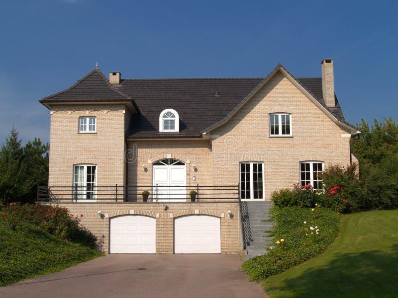 Suburban house. stock photo