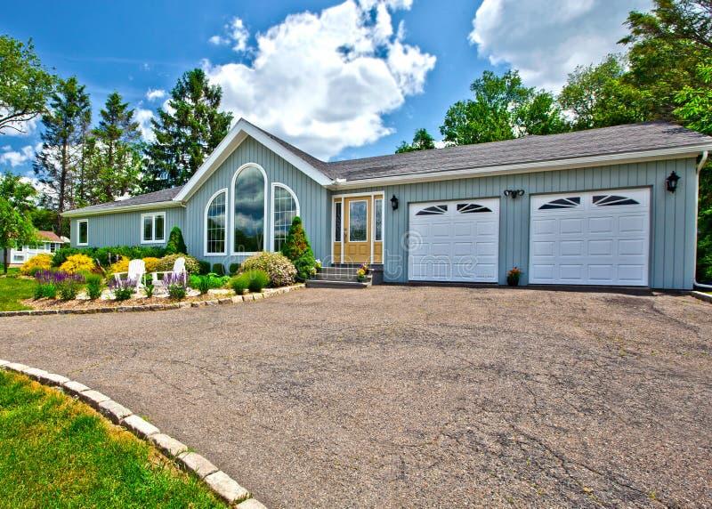 Suburban house exterior royalty free stock photos