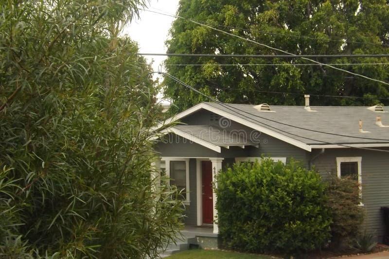 Suburban& x27; s dom w miasto wzroscie, San Diego zdjęcie royalty free