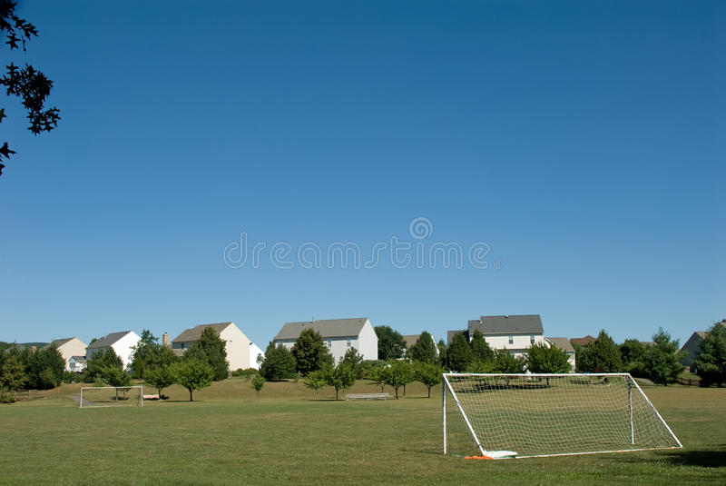 Download Suburbia stock image. Image of soccer, playing, field - 20489765