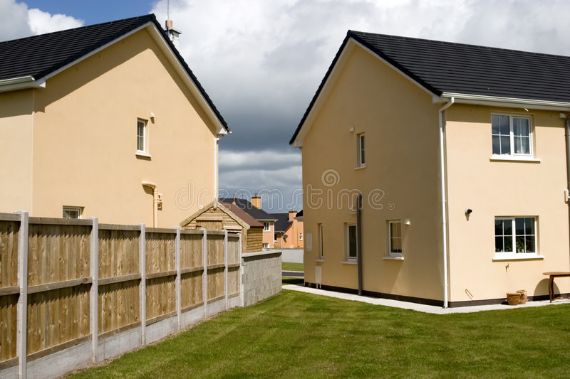 Download Suburbia stock image. Image of outdoors, housing, semi - 2449043