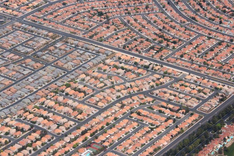 suburbia immagine stock