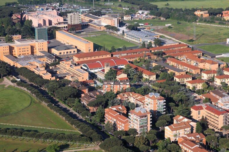 Suburbio de Roma fotografía de archivo