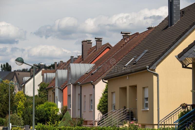suburbios foto de archivo libre de regalías