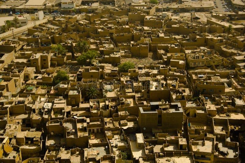 Suburbios de Bagdad foto de archivo libre de regalías