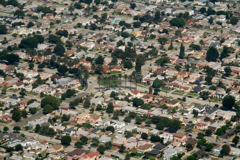 Suburbios de California fotos de archivo