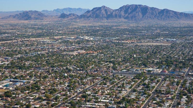 Suburbios de Las Vegas fotografía de archivo libre de regalías