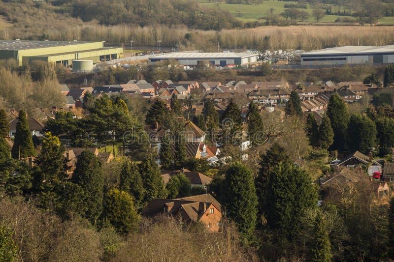 suburbs imagem de stock