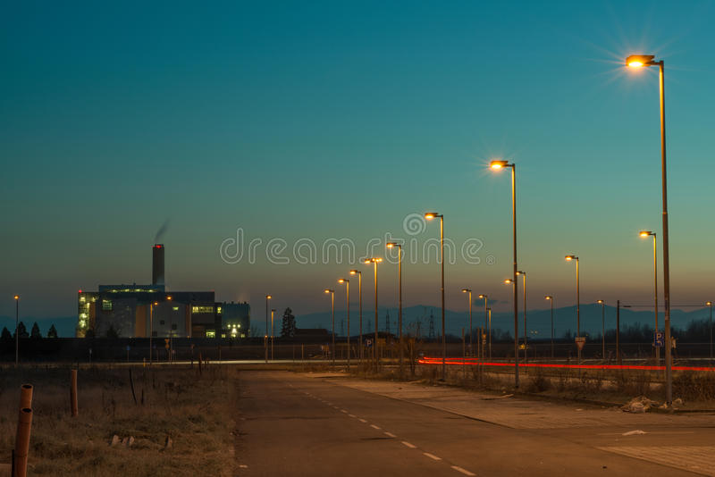 Suburbs stock images