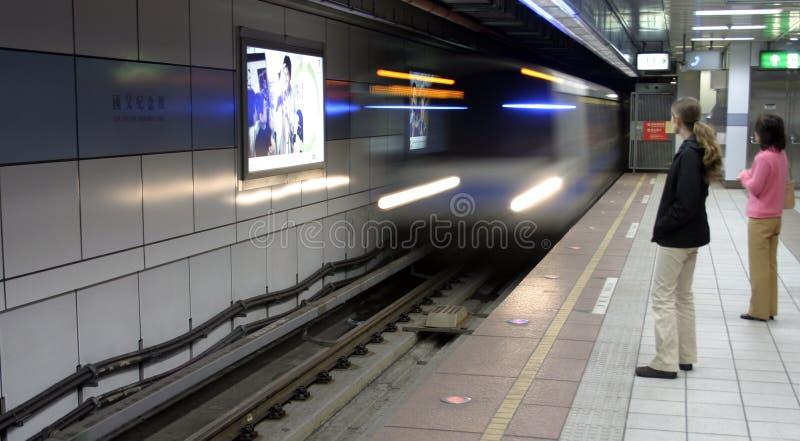 Subway stock image