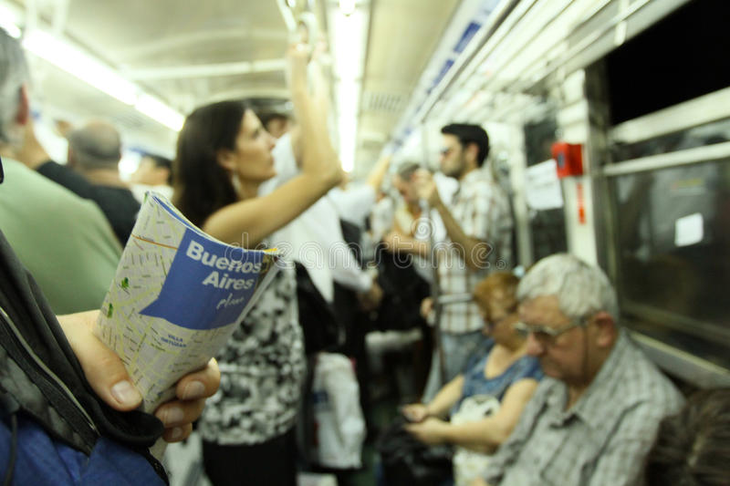 Download Subway in Buenos Aires editorial photography. Image of subte - 18487647