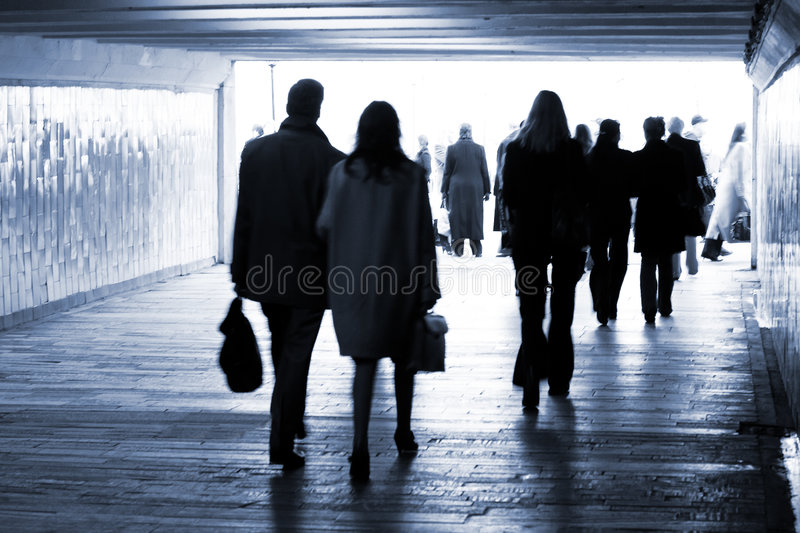 Subway. Exit from Underground royalty free stock images