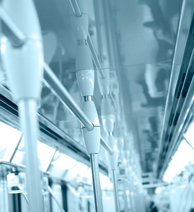 Download Subway handle stock image. Image of handrail, approaching - 17927163