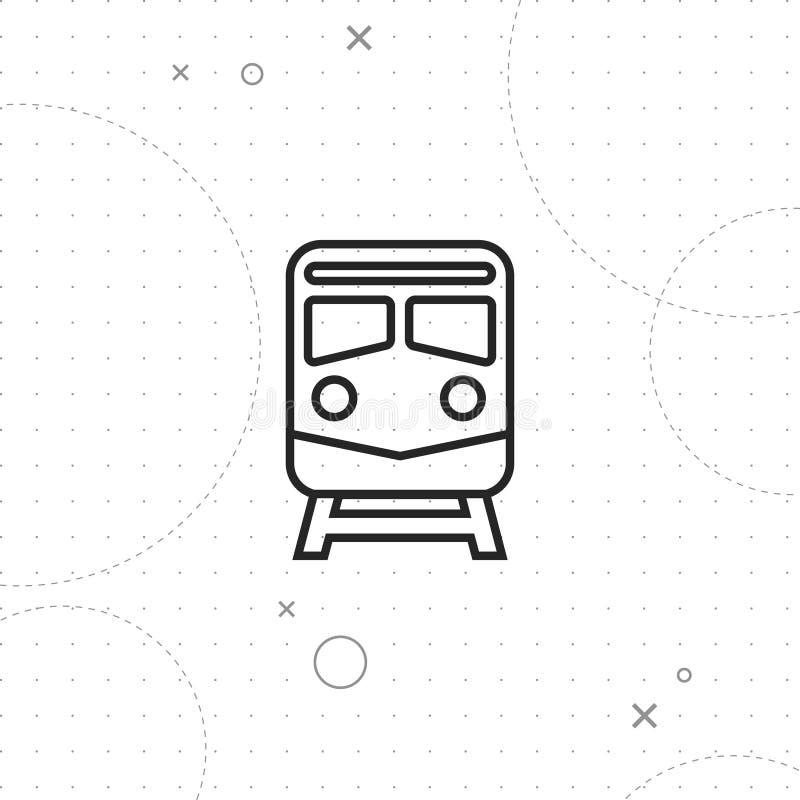 Subway icon stock illustration