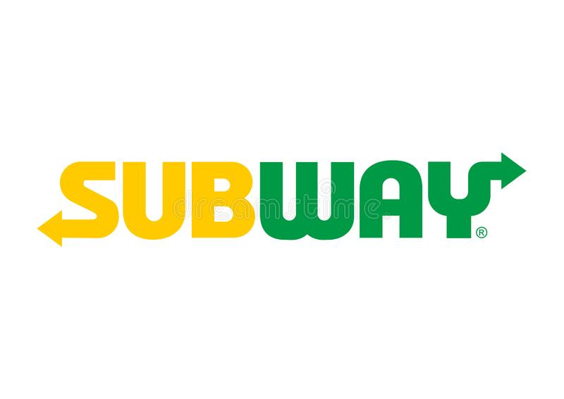 Subway Logo. On a white background, vector format avaliable vector illustration