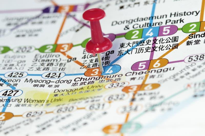 Download Subway map of Seoul stock illustration. Illustration of path - 15189224