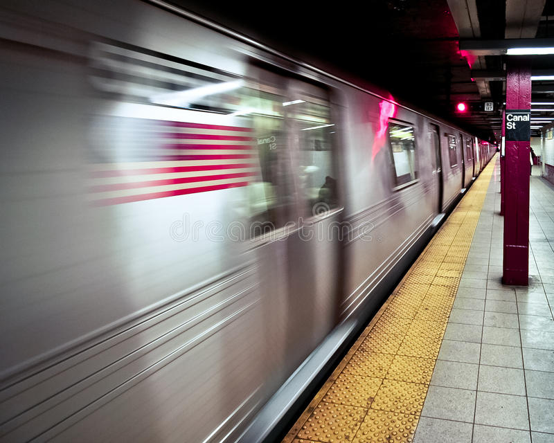 Download Subway in new york stock image. Image of speed, travel - 16598259