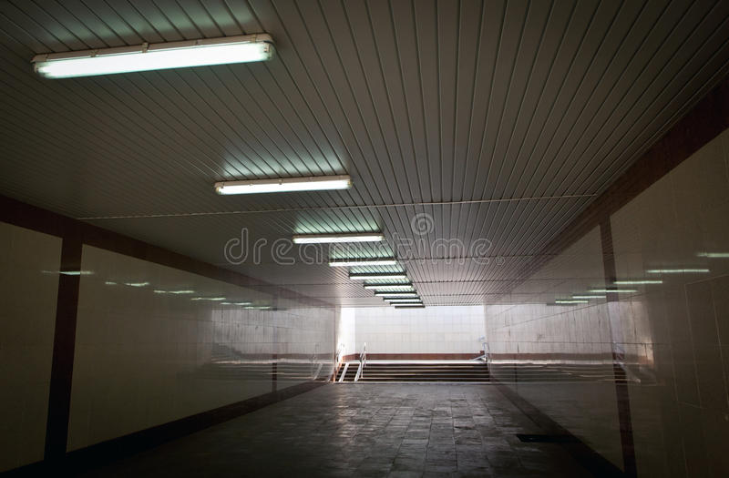 Download Subway passage stock photo. Image of wall, ceiling, scene - 30624182