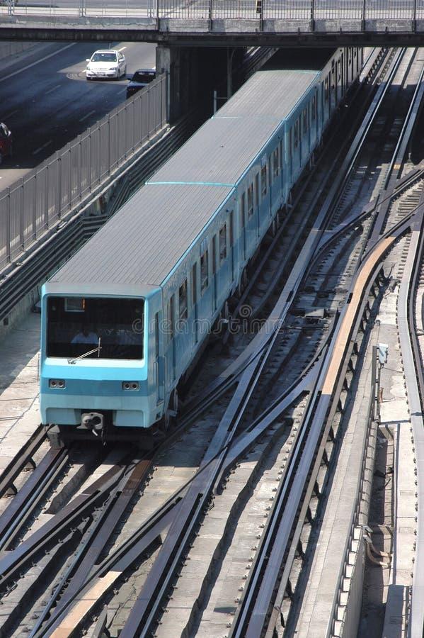 Download Subway Santiago, Chile stock image. Image of railway - 25368127