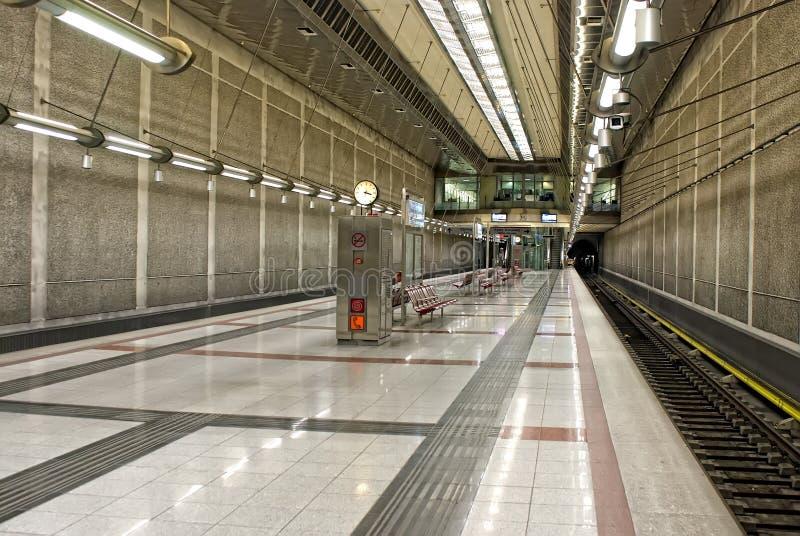 Subway station. royalty free stock photos