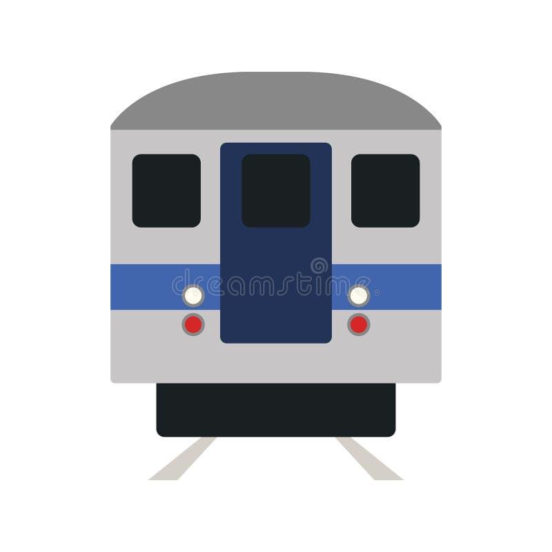 Subway Train Icon vector illustration
