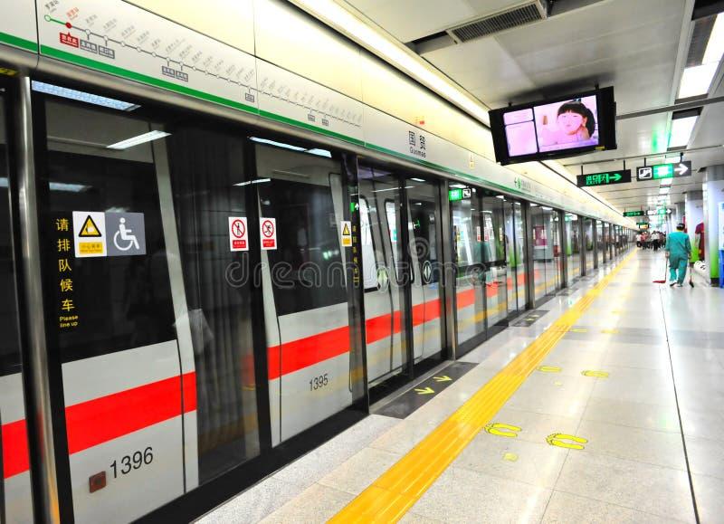 Subwaystation fotografia de stock