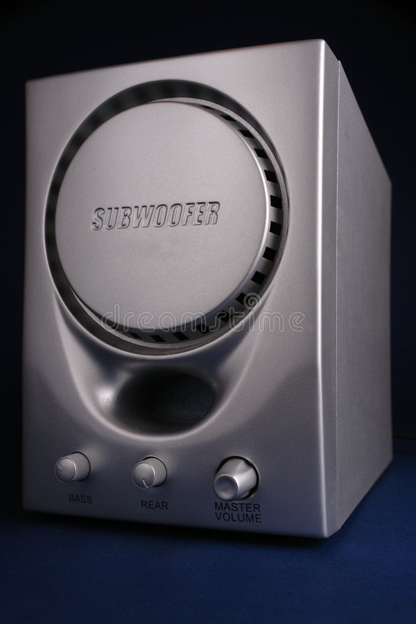 Subwoofer royalty-vrije stock foto