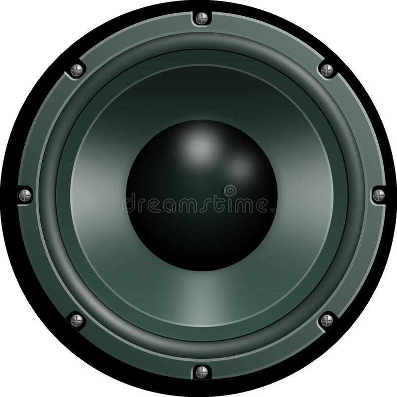 Subwoofer dell'automobile, altoparlante, audio, Subwoofer fotografia stock