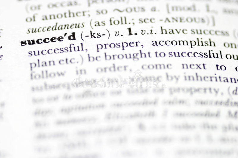 Download Succeed stock photo. Image of pronunciation, meaning, concept - 272368