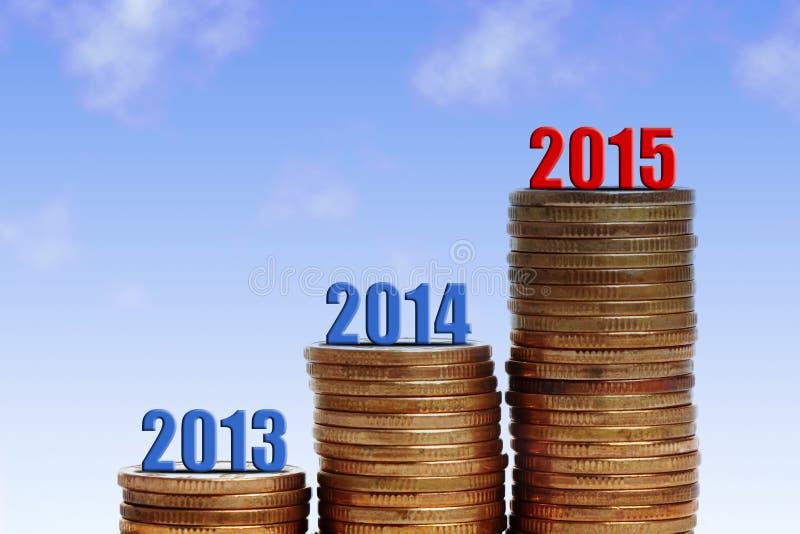Succes 2015 royalty-vrije stock foto