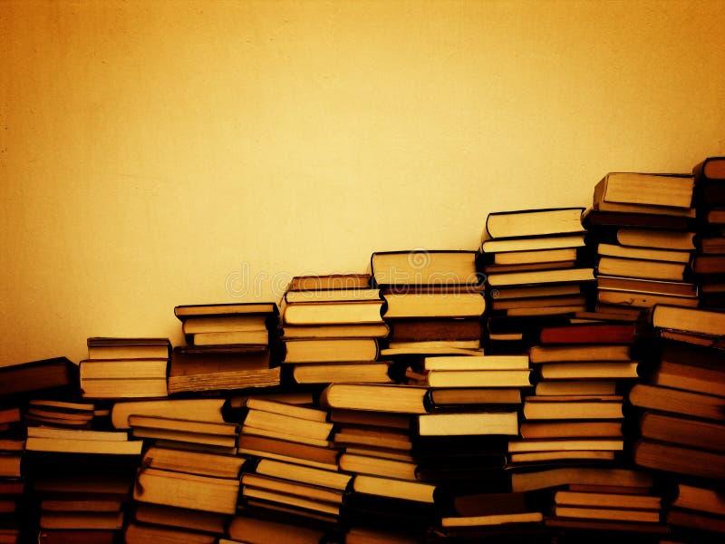 Succes in boeken royalty-vrije stock foto's