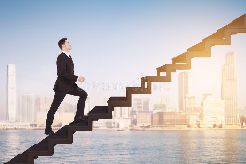 Succes en de groeiconcept royalty-vrije stock afbeeldingen