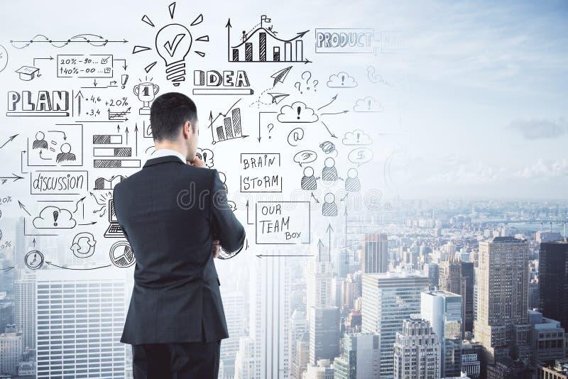 Succes en ideeconcept stock fotografie