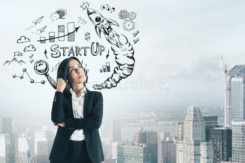Succes en ondernemerschapsconcept royalty-vrije stock afbeeldingen