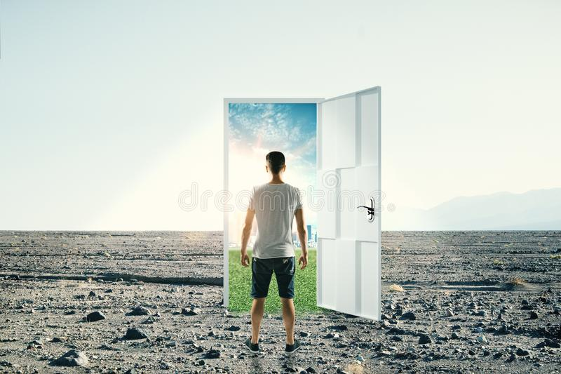 Succes en toegangsconcept stock afbeeldingen