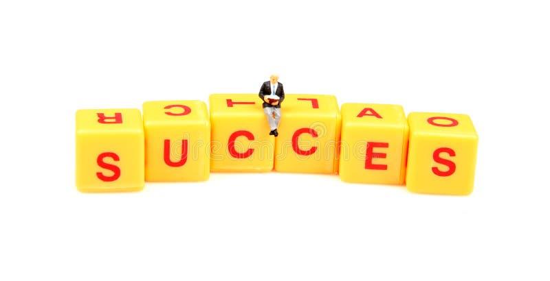 Succes secret royalty free stock photo
