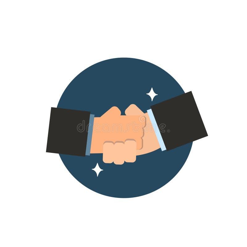 Succes van de bedrijfseconomie het vectorovereenkomst stock illustratie