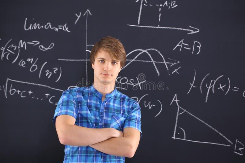 Succes van de school, begaafde student. stock foto