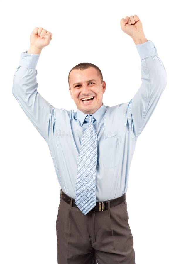 Succes in zaken stock afbeelding