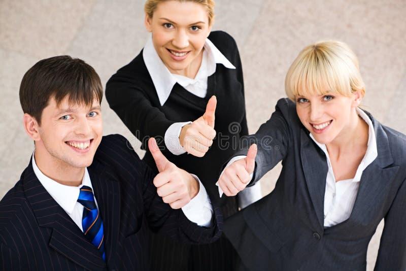 Succes in zaken royalty-vrije stock afbeelding