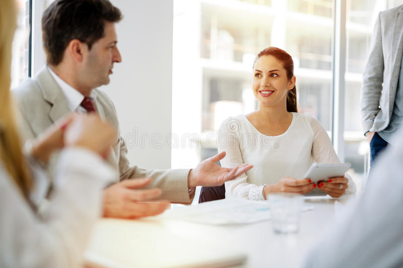 Succesful businesswoman CEO of company royalty free stock photography